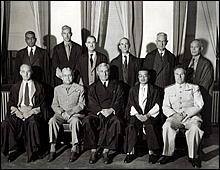 The eleven justices for the IMTFE. July 29, 1946.