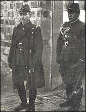 Lieutenant General Prince Asaka in Nanking.