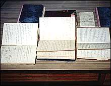 Ono collected 24 wartime diaries in the course of his investigation.