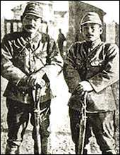 A photograph of the two Second Lieutenants who allegedly initiated the killing contest.