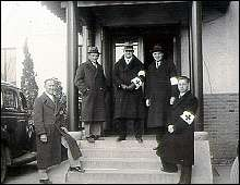 The headquarters of the International Committee for the Nanking Safety Zone. December 13, 1937.