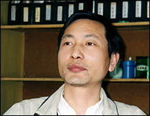 """We should put our emotional feelings aside when discussing the Nanjing Massacre between the two nations,"" says Wang Weixing. Interview by author on March 30, 2000."